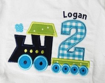 Train Birthday Shirt