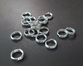 11mm Stainless Steel Split Rings | Free US Shipping | Choose Your Quantity