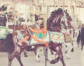 girl nursery art carousel horse carnival photography baby girl nursery neutral wall art nursery decor toddler girl room wall decor