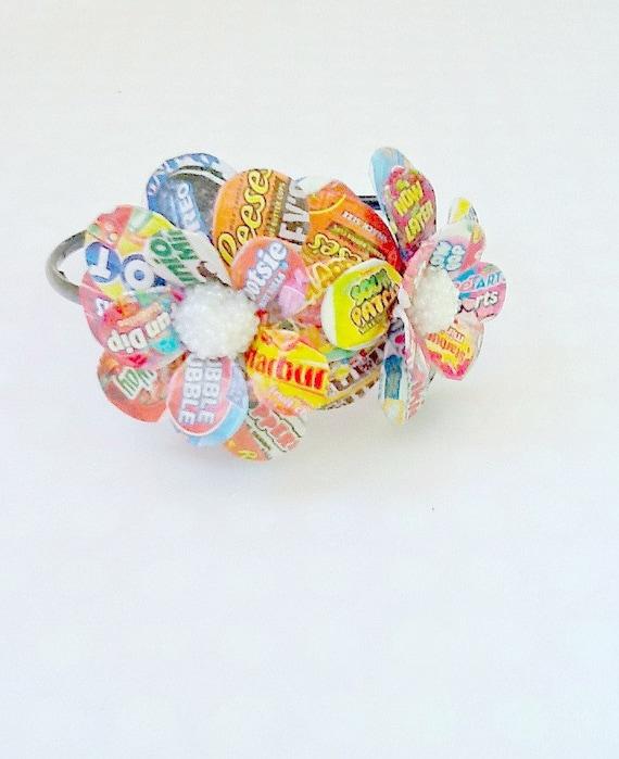 Sweet Tooth Daisies Paper Mache Headband