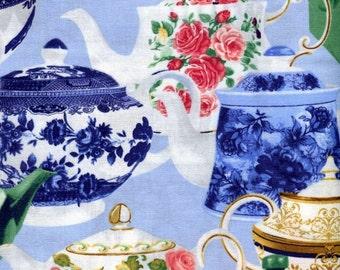 High Tea Teapots - Kanvas Studio - Half Yard