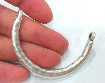 Bangle Bracelet Components Antique Silver Plated Metal  Bracelet For Your Craft , Findings, G2099