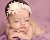 Shine Your Light - Single Flower Baby Headband