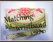 Add - on Matching wrist band - handmade - Detachable