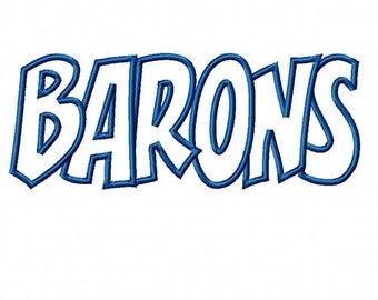 Barons Embroidery Machine Applique Design 10764