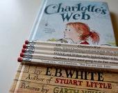 Charlotte's Web Wrapped Pencil Set