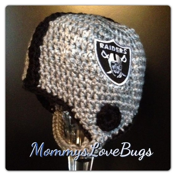 Football Helmet Crochet Beanie - Newborn through 4T Sizes Available