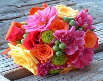 BODY SCRUB ~ Bright Blossoms type Body Scrub Sugar or Sea Salt Body Polish 8 oz