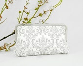Madison Gray Storm KissLock Clutch