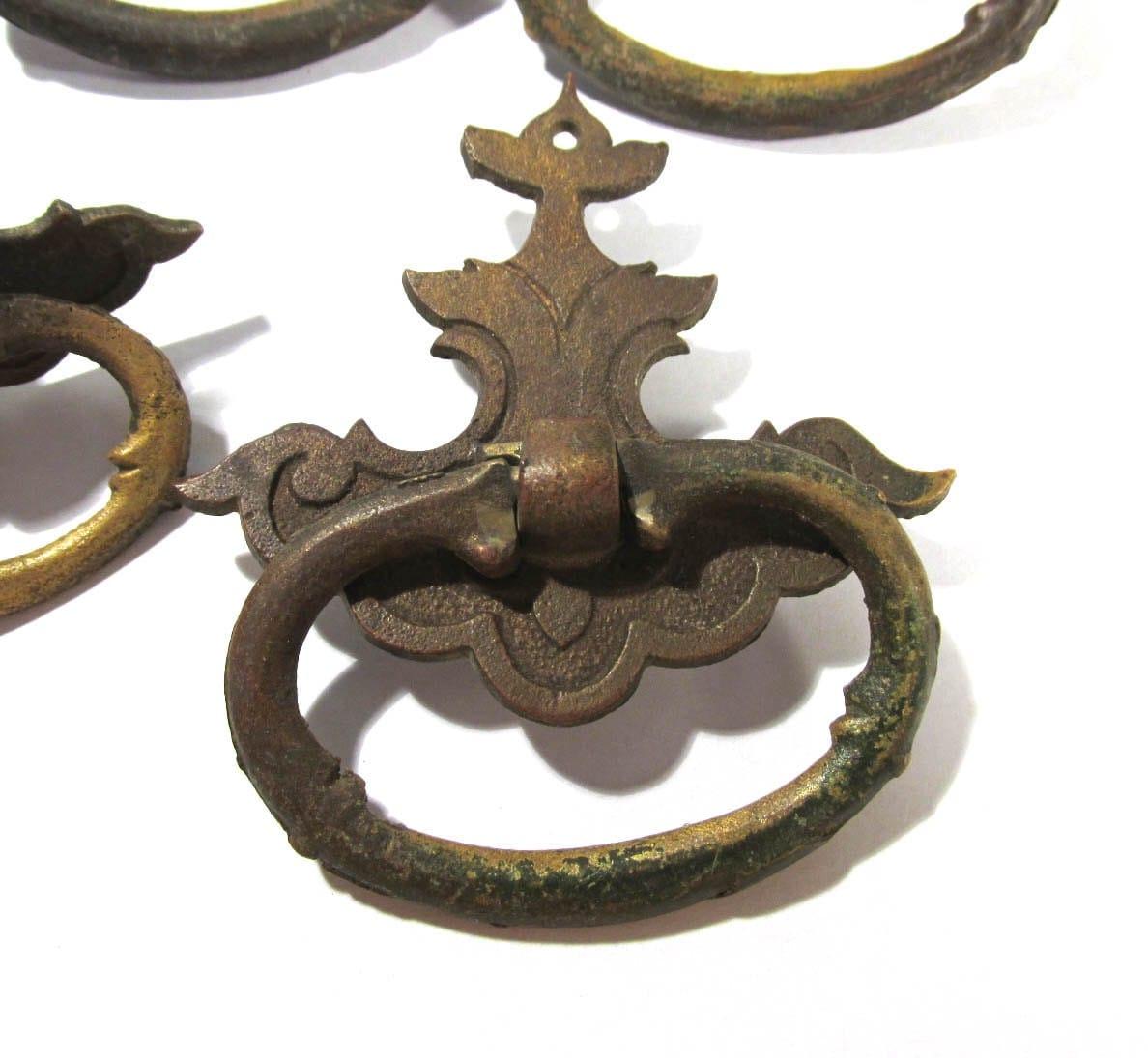 vintage brass door pulls eBay