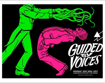 Guided By Voices poster by Shawn Wolfe