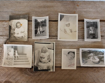 Antique Baby Photograph Collection