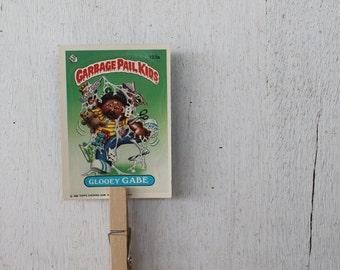 Vintage Garbage Pail Kids Card--Glooey Gabe