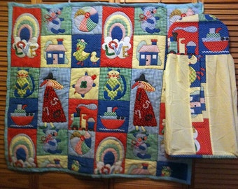 Babies Play time Handmade Baby Quilt #1
