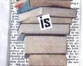 Bookmark. Laminated. Knowledge is power.