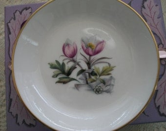 Vintage Royal Worcester Made in England Bone China Dish