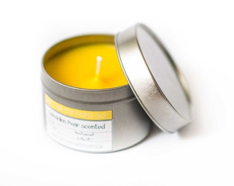 Scented tin candles - choose your own size and fragrance!