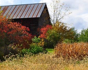 County Route 142 Barn Fine Art Photograph