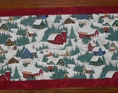 SHOP CLOSING SALE - Winter Scene Table Runner