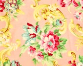 Jennifer Paganelli Girlfriends Carole on Dreamy Peach Fabric Very rare hard to find oop one fat quarter