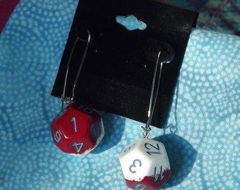 D12 Dice Earrings