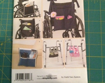 Simplicity Wheelchair and Walker Accessories Pattern #2822