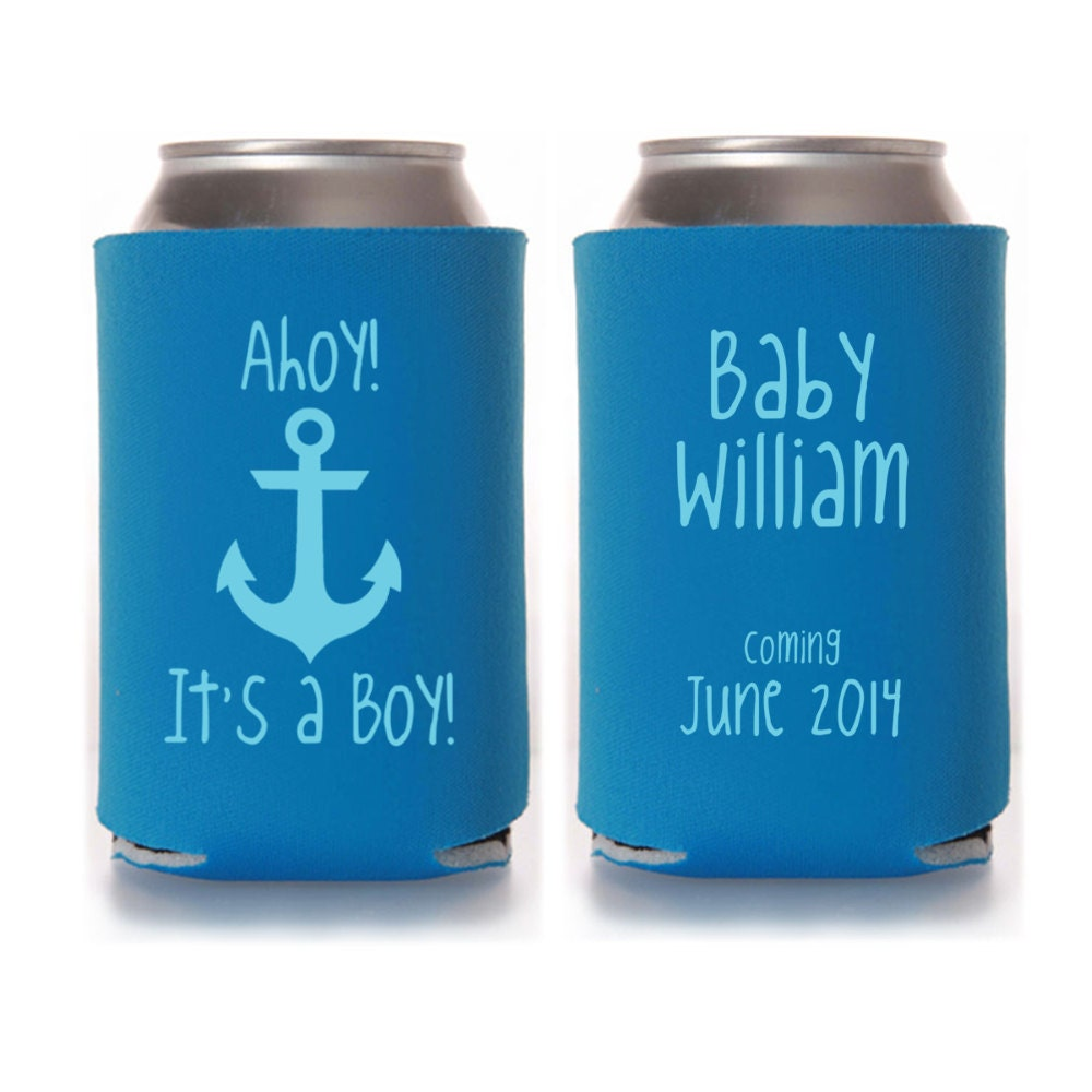 personalized ahoy it 39 s a boy baby shower by yourethatgirldesigns