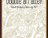 Coloring Art Ebook - Mehndi Inspired Designs