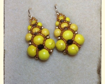 Sunny new Earrings by TovArtCreations