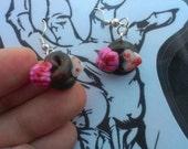 Zombie Poo Earrings