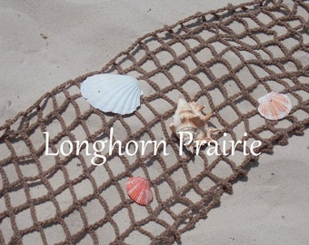 Fish Net Photo Prop crochet