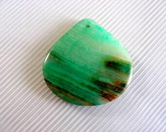 AMAZONITE stone pendant,gemstone pendant, Necklace pendant-P-029
