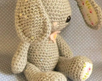 Easter bunny and chick amigurumi crochet pattern