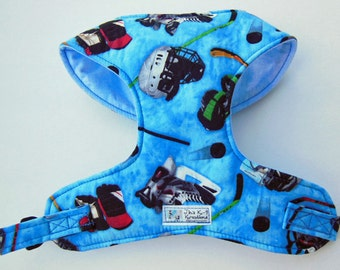 Hockey Comfort Soft Dog Harness.- Made to order -