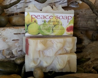 mountain fig peace soap