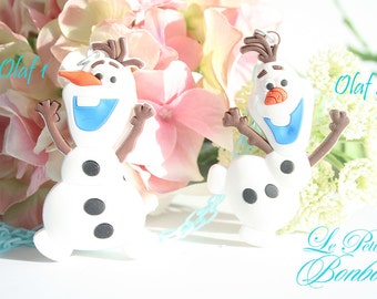 Olaf Anime necklace