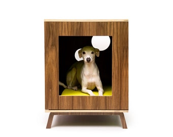Standard Cabinet /// Mid Century Modern Pet Furniture // Dog & Cat House // Side Table