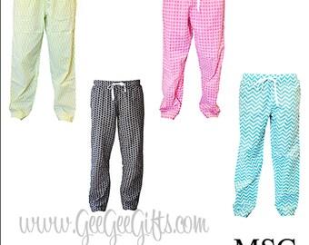 Monogrammed Lounge Pants