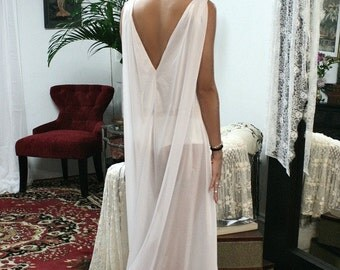 White Bridal Nightgown Keyhole Fitted with Loose Train Effect Back Wedding Lingerie Sarafina Dreams 2014 Bridal Sleepwear