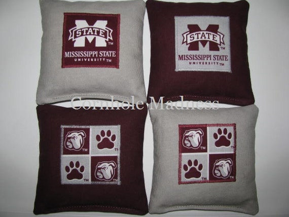 Items Similar To Msu Mississippi State Bulldogs Cornhole