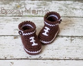 Download PDF crochet pattern b006 - Baby Football boots