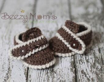 Download PDF crochet pattern b002 - BabyModern Booties