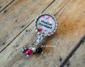 Medical Assistant -Retractable Badge Reel