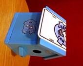 April's UNC Carolina Blue Birdhouse  Custom Order
