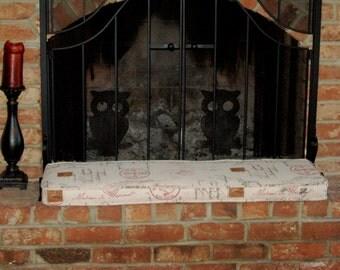 Fireplace Hearth Cushion
