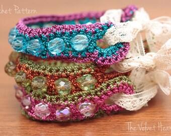 Beaded Jewelry Pattern, Bead Bracelet Pattern, Crochet Jewelry(26)