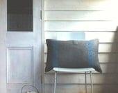 army blanket cushion oblong GALLANT made in australia blue stripes