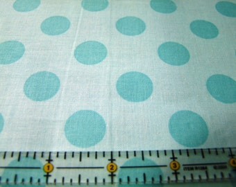 Aqua Dots Fabric by the Yard Riley Blake