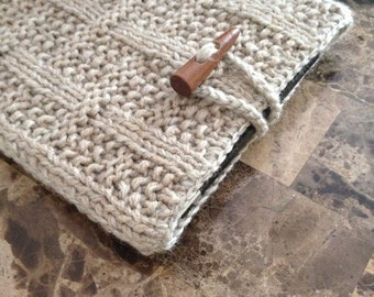 Gorgeous crochet iPad case, urban style iPad case, men's case for iPad