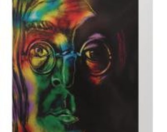 John Lennon, Give peace a chance greeting card